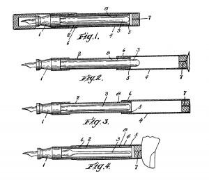Disegno dal brevetto US 1755586
