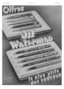 Modelli Waterman del 1935