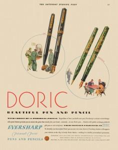 Pubblicità Doric 1931