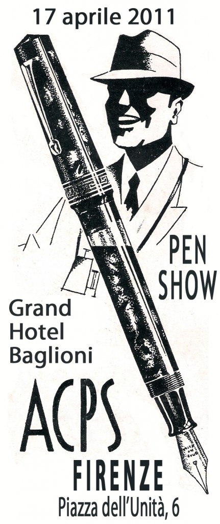 Volantino Pen Show Firenze