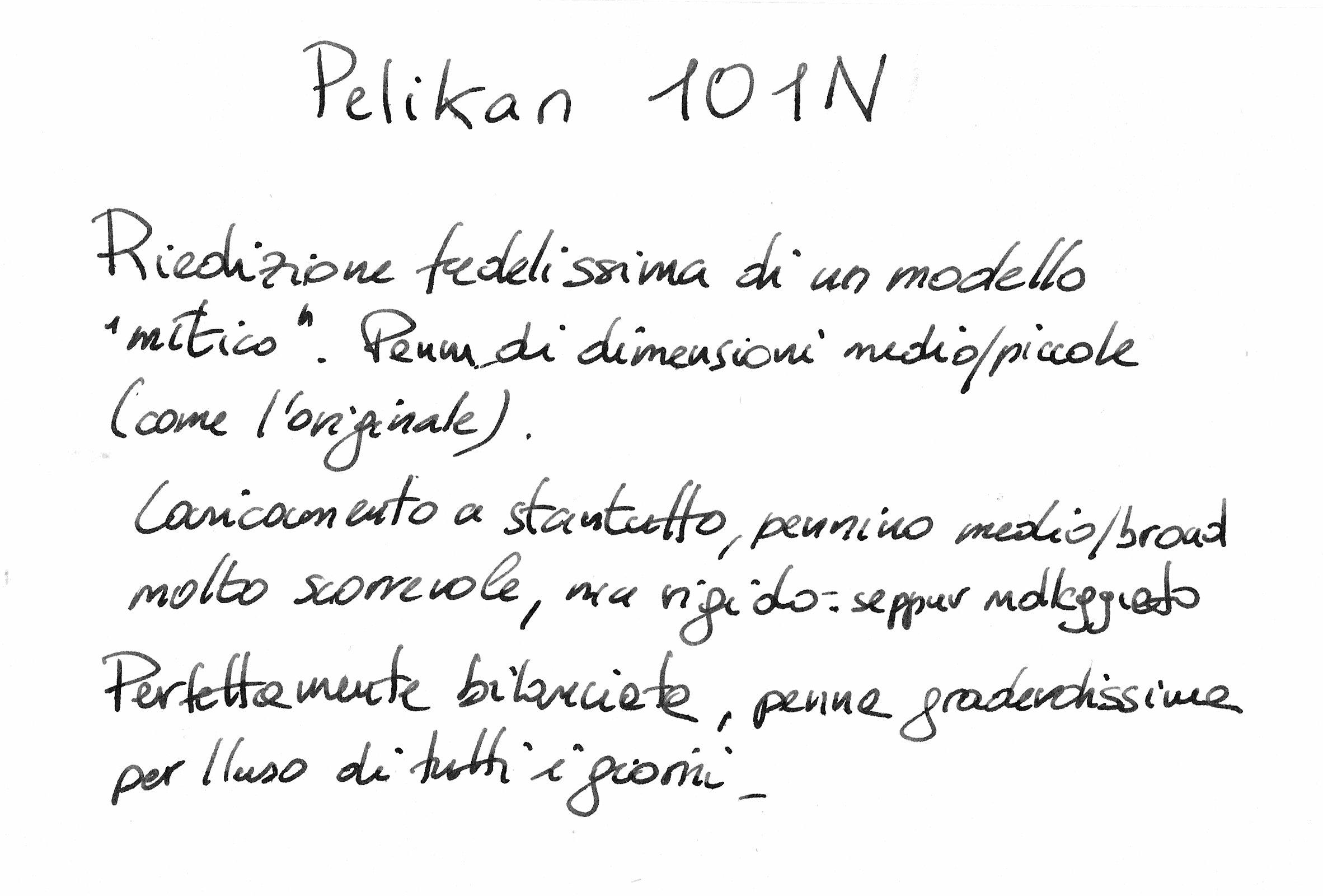 Pelikan m101n penciclopedia - Modello di scrittura vichingo ...